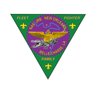 Naval Air Station Joint Reserve Base New Orleans - Official insignia of the Naval Air Station Joint Reserve Base New Orleans