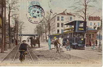 Courbevoie wikip dia - Piscine municipale de courbevoie ...