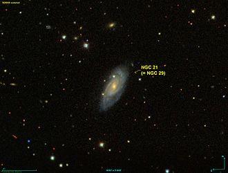 NGC 21 - NGC 21/NGC 29 (Sloan Digital Sky Survey)