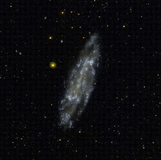 NGC 4236 - A Galaxy Evolution Explorer (GALEX) image of NGC 4236.