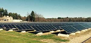 Peterborough, New Hampshire - Peterborough's solar energy facility is the largest in New Hampshire.