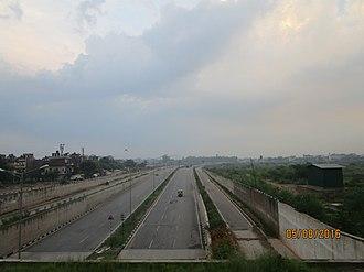 National Highway 5 (India) - NH 5 at Panchkula