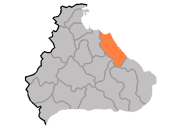 Location of تانگچون