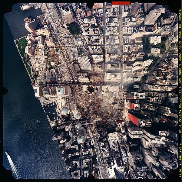 filenoaa photo of world trade center site september 23