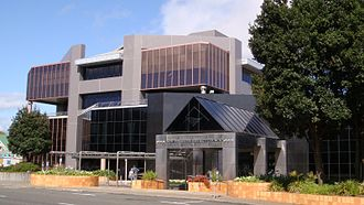 New Plymouth District - New Plymouth District Council offices