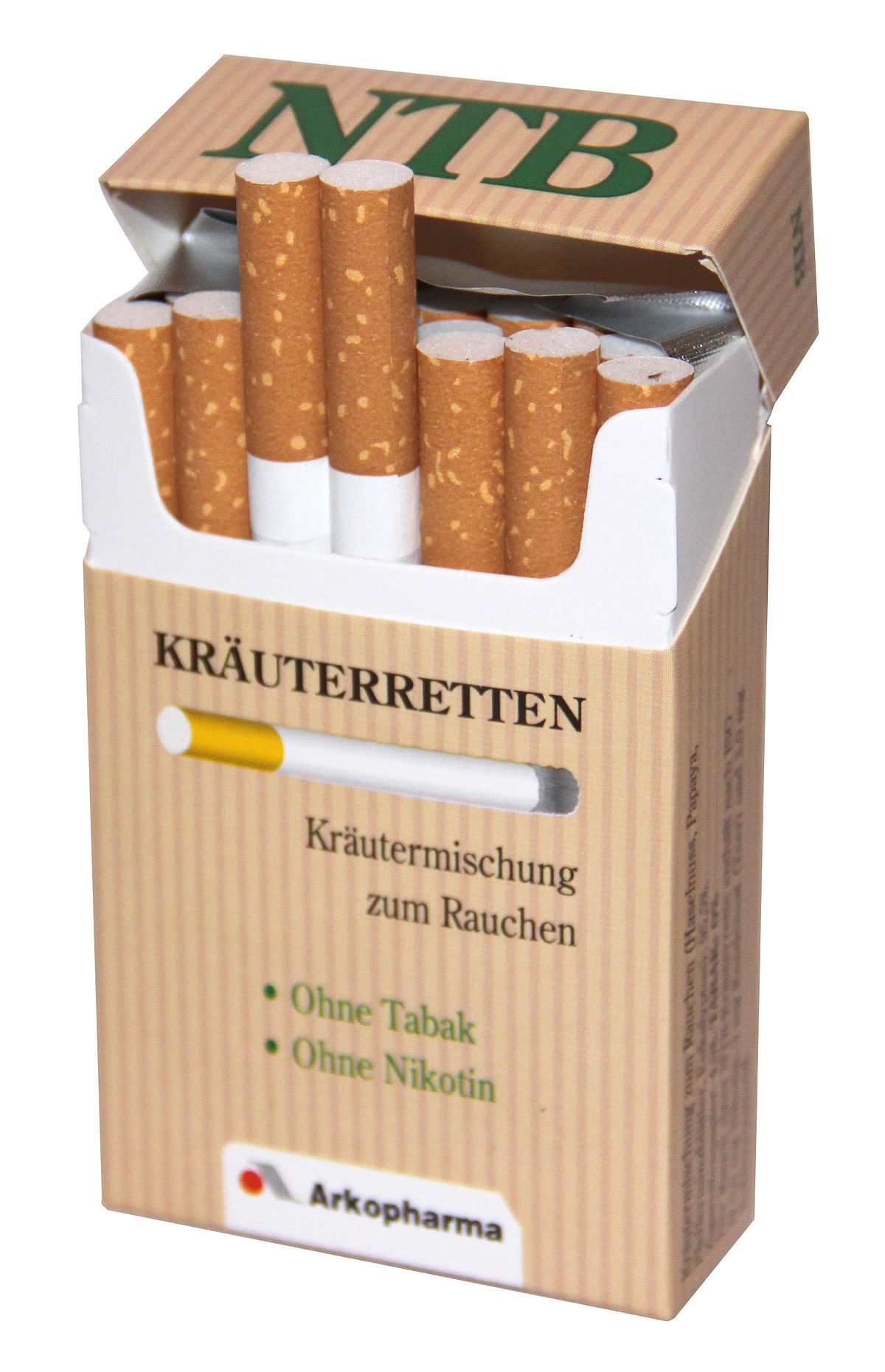 Fake Zigaretten
