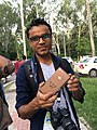NabinSapkota WikiconferenceIndia 2016.jpg