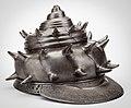 Nagasone Tojiro Mitsumasa Helmet in the form of a Sea Conch Shell 1618.jpg