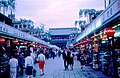 Nakamise - an approach to the Senso-ji, Asakusa (1967-05-04 by Roger W).jpg