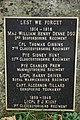 Names on Brimpsfield War Memorial - geograph.org.uk - 584599.jpg