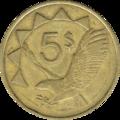 Namibia-Dollar 5dollar-coin2.png