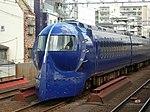 Nankai 50000 Rapit in Haginochaya Station DSCN3264 20120831.JPG