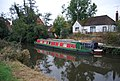 Narrowboat on the River Medway - geograph.org.uk - 1543340.jpg
