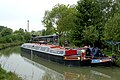 Narrowboats on canal arm - geograph.org.uk - 1302274.jpg