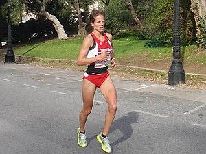 Natalia Rodríguez (athlete) - Rodríguez at the Jean Bouin road race in 2008