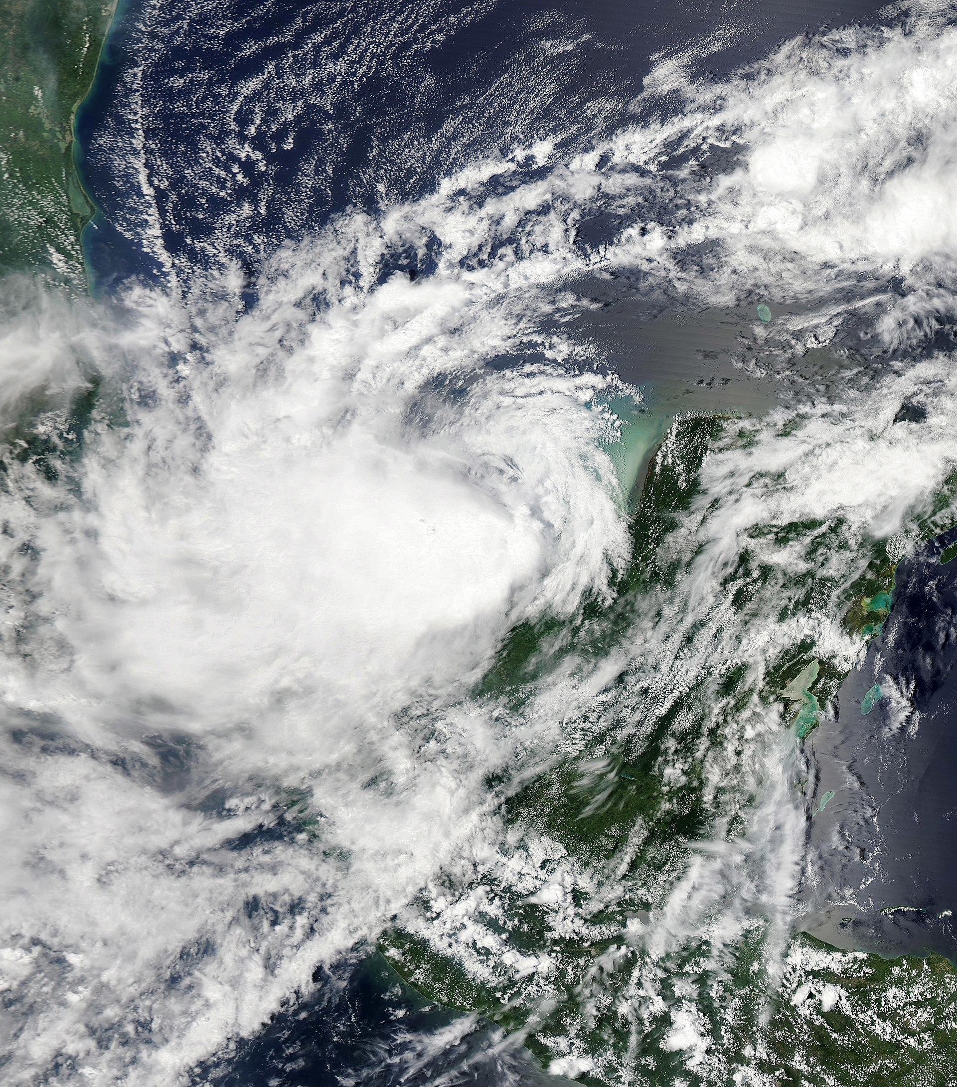 September 2011: Hurricane Nate (2011)