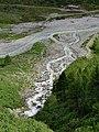 Nationalpark Hohe Tauern - Gletscherweg Innergschlöß - 15 - Zusammenfluss von Viltragenbach und Schlatenbach zum Gschlössbach.jpg