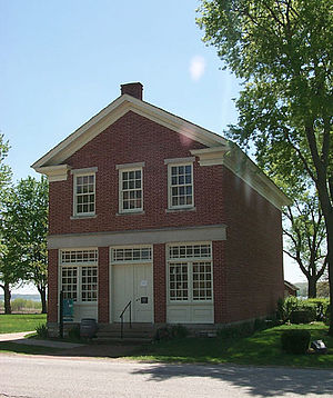 Red Brick Store - The rebuilt Red Brick Store in Nauvoo, Illinois