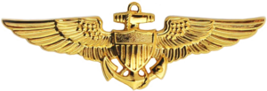 Patrick D. Fleming - Image: Naval Aviator Badge