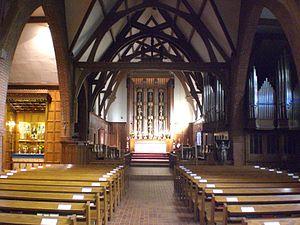 St. Thomas's Anglican Church (Toronto) - Image: Nave of St Thomas Anglican Church of Canada, Toronto