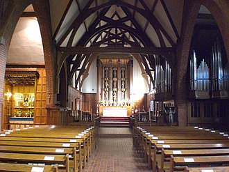 St. Thomas's Anglican Church (Toronto) - Image: Nave of St Thomas Anglican Church of Canada, Toronto