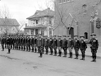 Legion of Frontiersmen - Edmonton Command, 1930