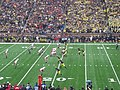 Nebraska vs. Michigan 2011 09 (Michigan on offense).jpg