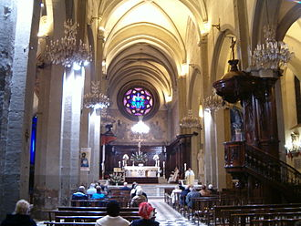 Toulon Cathedral - Nave of Toulon Cathedral (11th-17th century)