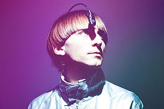 Cyborg - Cyborg Neil Harbisson with his antenna implant