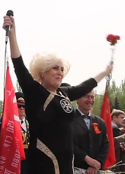 Nelya Shtepa at 9 May in Sloviansk.jpg