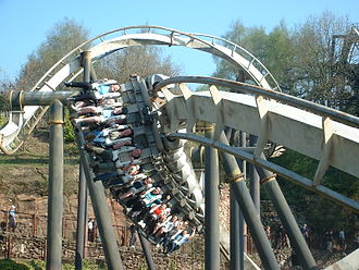 Inverted roller coaster - Image: Nemesis Alton