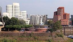 Neuer Zollhof in Düsseldorf