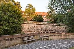 Neutormauer, Stadtmauer Nürnberg 20180723 002