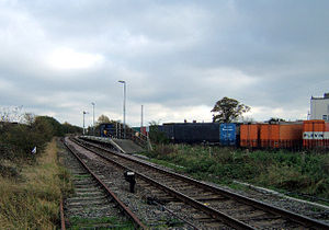 New Holland railway station - Image: New Holland railway station in 2005