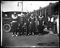 New Orleans Mardi Gras Maskers, Streetcar, Automobile, 1919.jpg
