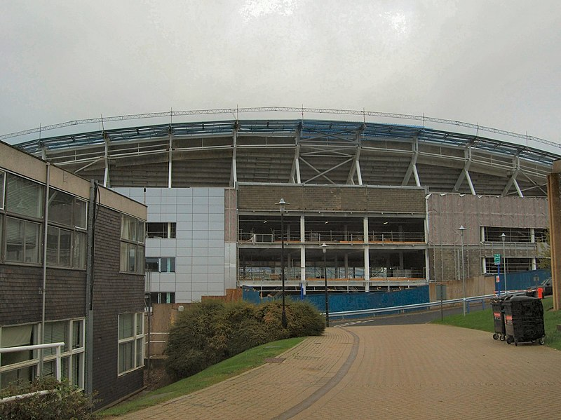 File:New Stadium nears completion - geograph.org.uk - 2061774.jpg