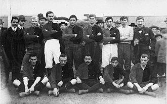 Newell's Old Boys - The team that played their first official match on May 21, 1905, v. Argentino