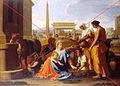 Nicolas Poussin, Le repos durant la fuite en Egypte, 1655-1657.jpg