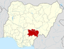 Nigeria Benue State map.png