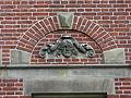 Nijmegen - Geveldecoratie van Egidius Everaerts op de gevel van Huis Heyendaal 01.jpg