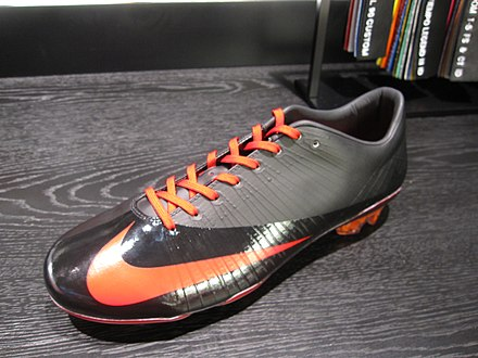 A customised Nike Mercurial Vapor Superfly boot. be90f1f0c131f