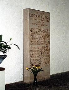 Gedenkstein in St. Nikolai Kiel (Quelle: Wikimedia)