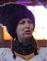 Nina Garenetska (DakhaBrakha) (Haldern Pop 2013) IMGP6610 smial wp.jpg