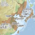Nipponia nippon map.png