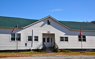 Noah, Tennessee - The Noah Community Center, November 2014.