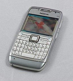 Nokia E71 cellphone