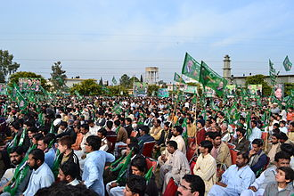 Islam in Pakistan - The conservative convention in Lahore, Pakistan, 2009
