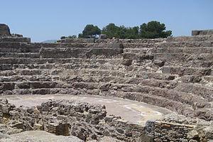 Nora, Italy - Roman-Era Theatre