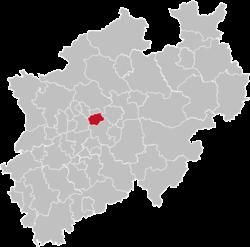 Lage in NRW