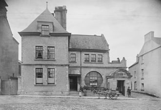 Danske Bank (Northern Ireland) - Branch in Mohill, circa 1905.